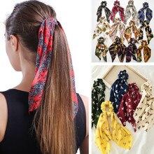 MINHIN женский старинный головной убор тюрбан DIY резинки для волос конский хвост Галстуки упругий лук для волос шарф ювелирные изделия