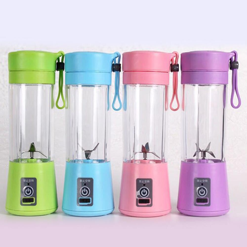 New Portable Electric Juicer Cup USB Rechargeable Automatic Vegetables Fruit Juice Maker Cup Juice Extractor Blender Mixer