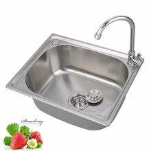Dropshopping Home Improvement Kitchen Sink Fregadero De Cocina Wash  Portable Sink  Stainless Sink Wastafel Kitchen Faucets