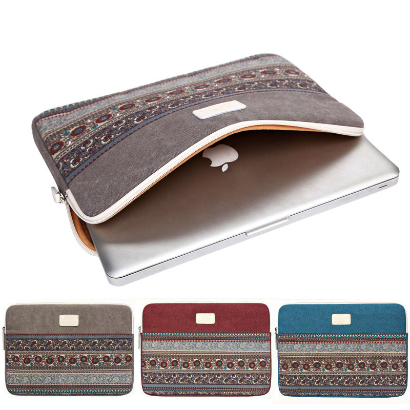 Liner Sleeve Laptop  Bag Case For Ipad Xiaomi MacBook Air Pro Retina 11 13 15 Inch Cover Vertical Cross Notebook Tablet Handbag