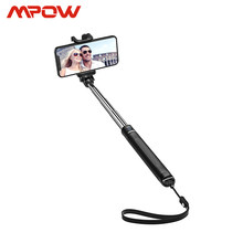 Mpow Silikon Selfie Stick Bluetooth Fotografi Monopod Nirkabel Mini Portable Tongkat Selfie untuk Iphone Huawei Xiaomi Samsung(China)