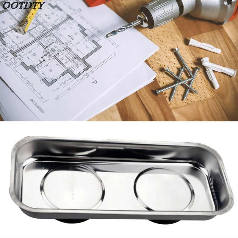 Square Magnetic Tray Sucker Stainless Steel Strong Permanent Magnet Bowl