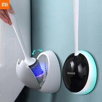Xiaomi-cepillo de baño de silicona para el hogar, accesorios de limpieza para WC, escobilla de inodoro drenable, Herramientas de limpieza montadas en la pared