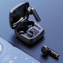 Bluetooth 5,1 наушники-вкладыши TWS с Беспроводной Наушники Hi-Fi стерео спортивные Водонепроницаемый наушники светодиодный Дисплей наушники с микр...