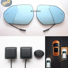 Mirror-Light Blind-Spot-Detection Prius Toyota Microwave-Radar-Sensor Bsd Bsm Camry