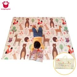 Miamumi Spielen Matte XPE Weichen Playmat Baby Faltbare Krabbeln Matte Kinder Spiel Pad Teppich Folding Decke 1CM Dicken Matten 150*200cm 59 * 78IN