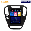 Android 9.0 Tesla Vertical Screen for Opel Insignia Vauxhall Holden/Buick Regal 2009-2013 GPS Navigation DVD Player PX6 4G+64G