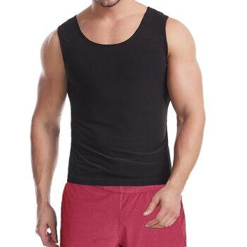 Men Shapewear Waist Trainer Vest Hot Sauna Suits Thermo Sweat Tank Tops Body Shaper Slimming Underwear Compression Workout Shirt 4