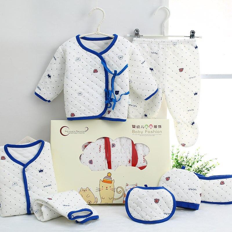 Spring And Autumn Newborns Underwear Cotton Clothes Newborn Baby 0-3-Month Baby Gift Package Birth BABY'S FIRST Month Set