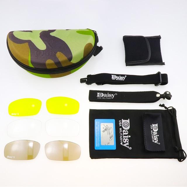 X7 Polarized Photochromic Tactical Military Goggles Eyewear Hiking Eyewear UV400 10