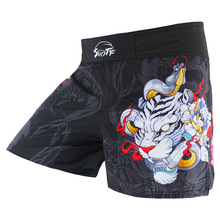 Boxing-Pants Short Fighting Jujitsu Muay-Thai Tiger MMA Sanda Cheap Men Men's