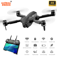 GPS Drone 4K Quadcopter with HD Camera Follow Me 25 mins Fly Time Brushless Folding Drone X PRO RC Dron VS K20 SG906 F11 PRO EX4