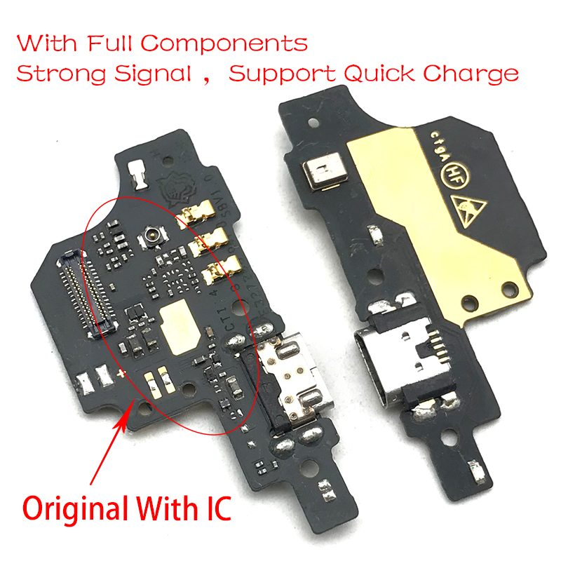 New For ZTE Blade V7 Lite USB Micro Charger Charging Port Dock Connector Microphone Board Flex Cable