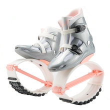 Pink White Bouncy Shoes For Unisex, New 4T Spring Weight Loss Exercise Kangaroo Jump Boots