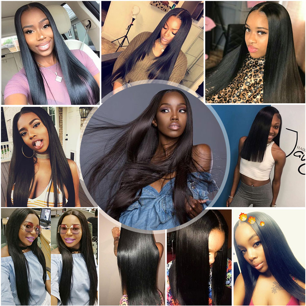 Straight Hair Bundles     Bundles 30 40 Inch  Virgin  s  6