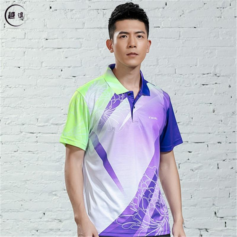 V-образная горловина, короткий рукав, форма для настольного тенниса, один топ для мужчин и женщин, летняя одежда для учеников средней школы, студентов средней школы - Цвет: A2621male2