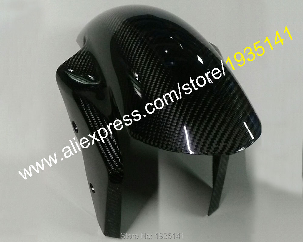 <font><b>Carbon</b></font> <font><b>Fiber</b></font> Front Mudguard Fender Hugger For <font><b>BMW</b></font> <font><b>S1000RR</b></font> 2009 2010 2011 2012 2013 2014 2015 2016 2017 2018 Fairings image