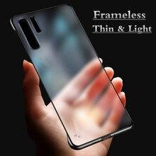 Модный прозрачный матовый чехол для samsung Galaxy Note 10 Pro 8 9 чехол A70 A50 A30 A7 S10 S9 S8 плюс S7 край жесткая задняя панель из поликарбоната