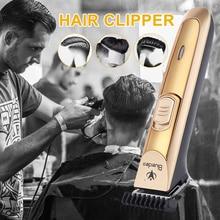 Hair Clipper Portable Golden Shaving Painless Hair Trimmer Health Beaut