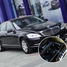 جديد بيع أسود الجبهة سيارة حامل الكأس اكسسوارات السيارات لمرسيدس بنز S الفئة W221 تجميل (2009/06-2012)