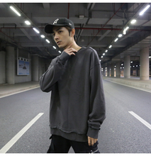 Cooo Coll Men Women Long Sweatshirt Kanye West Streetwear Winter Thick Hip Hop Tops OVERSIZE Solid Pullover Clothes