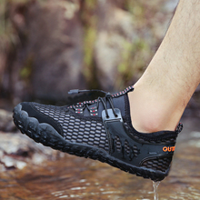 Sandals Sea-Slippers Upstream Sneakers Aqua-Shoes River Quick-Drying Swimming Man Barefoot