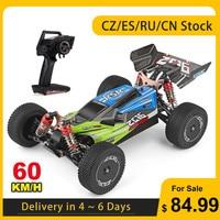 Wltoys-coche de carreras RC todoterreno alta velocidad para niños. XKS 144001, 1/14, 60 Km/h, 2,4 GHz, Buggy 4WD 550, Motor RC, derrape en carretera, RTR VS 12428