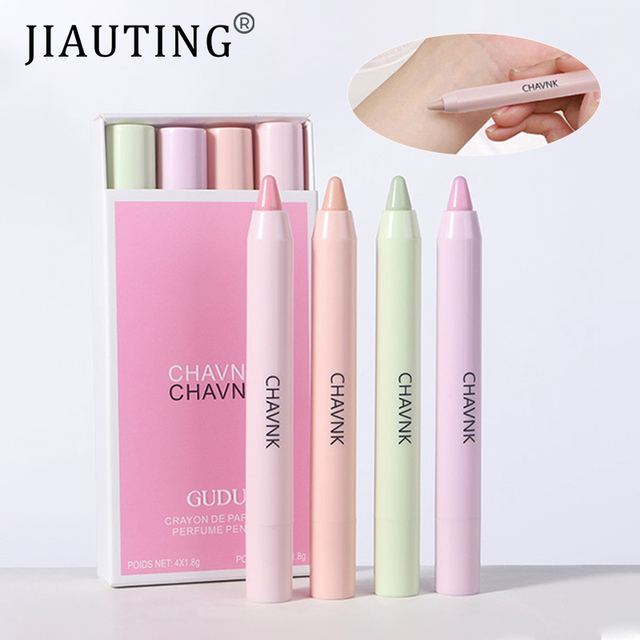 JIAUTING Perfume For Women Long Lasting Portable Solid Perfume Fragrances Solid Stick Perfume Parfum Cologne Fragrance Flower 1