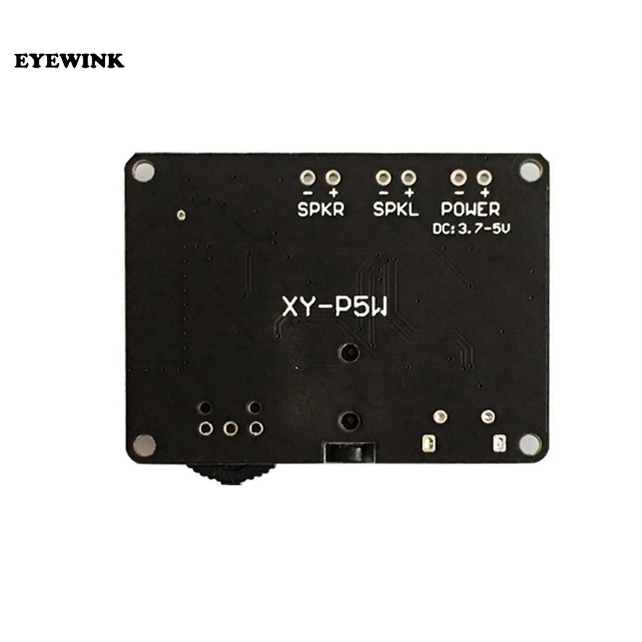 5 ワット + 5 ワット PAM8406 bluetooth 5.0 DC3.7-5V ステレオ · オーディオ · パワーアンプモジュール XY-P5W arduino の diy キット