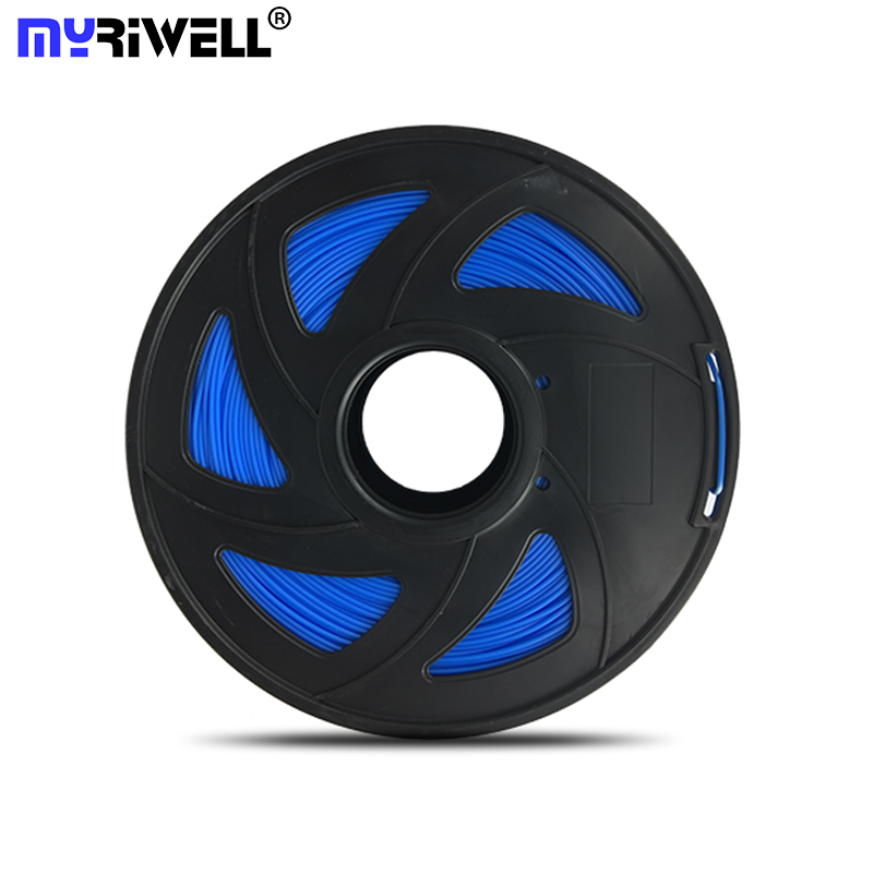 Myriwell 3D Printer ABS Filament 1.75mm Filament Dimensional Accuracy+/-0.02mm 1KG 335M 2.2LBS 3D Printing Material for RepRap