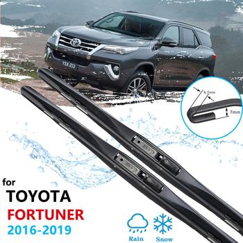 Car Wiper Blade for Toyota Fortuner SW4 2016~2020 AN150 AN160 Front Windscreen Windshield Wipers Car Accessories 2017 2018 2019 image