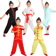 Wushu Costume Performance-Clothing Kung-Fu New And Short-Sleeve Youth Tai-Chi-Students