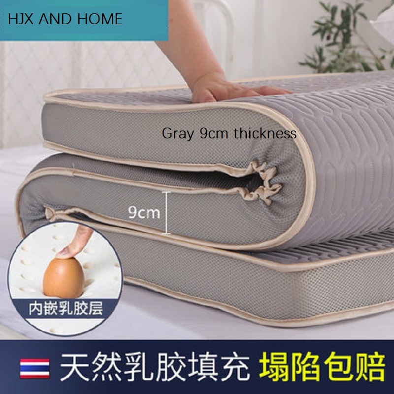 Customizable Natural Latex And Memory Sponge Filling Mattress Foldable Cotton Fabric Tatami King Queen Twin Full Size