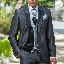 Groom Wear Business-Suits Peaky Blinders Jacket Tuxedos Dinner-Dresses Man Vest Pant