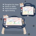 Детская магнитная доска для рисования с держателем и музыкальным граффити доска для рисования игрушки Детские куклы игрушки для детей дево...