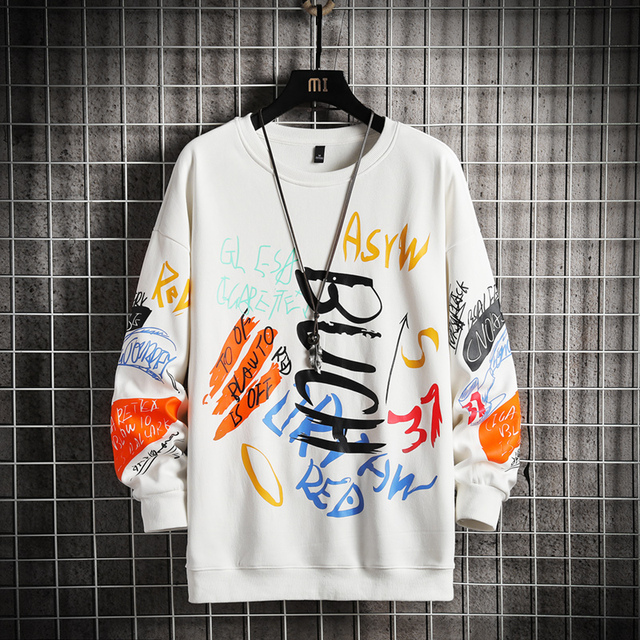 SingleRoad-Sudadera de cuello torcido para hombre, ropa informal japonesa de gran tamaño, Hip-Hop, Sudadera con capucha para hombres, color negro, Harajuku, 2021 4