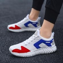 Men Sneakers Men Casual Shoes Brand Men Shoes light running shoes Increase Boy Mesh Flats Plus Big Size Breathable Slip Summer цена 2017