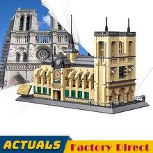 Cathedrale נוטרדאם דה פריז בניין בלוקים Lepinbrick ארכיטקטורת מורשת תרבותית מפורסם הכנסייה סמל הבנייה בריק