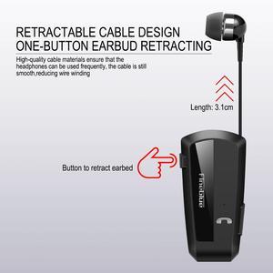 Image 3 - Le plus nouveau Fineblue F990 Portable affaires sans fil Bluetooth casque télescopique Type collier pince HD qualité sonore écouteur avec micro