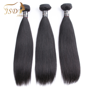 Image 5 - JSDShine 8 38 40 inch Brazilian Straight Hair Weave Bundles Natural Color 100% Human Hair weave 1/3/4 Piece Remy Hair Extensions