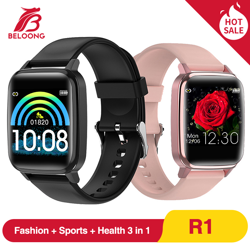 BELOONG R1 Smart Watch Sport Wristband Heart Rate Blood Pressure Oxygen Sleep Monitor Reminder Wearable Devices Bracelet Band