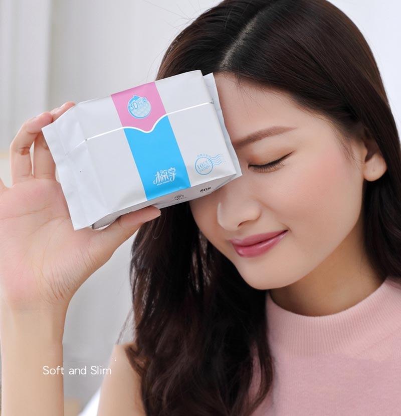 6 packs menstrual period anion pads sanitary napkin winalite anion hygienic pad feminine hygiene sanitary 1