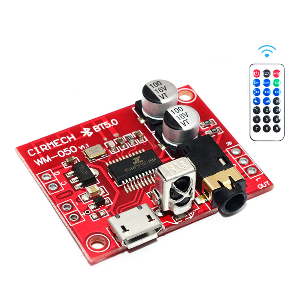MP3 Decoder Board Modified Receiver Module Remote Control Car Speaker Bluetooth 5.0 Mini Audio Circuit Lossless Accessories