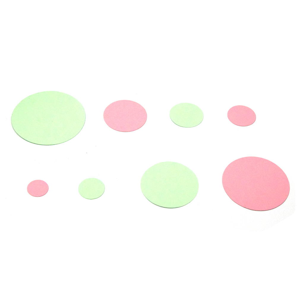 SMVAUON 2021 Circles of Different Sizes Wooden Cutting Dies For Scrapbooking Making Decor Supplies Dies Template 4