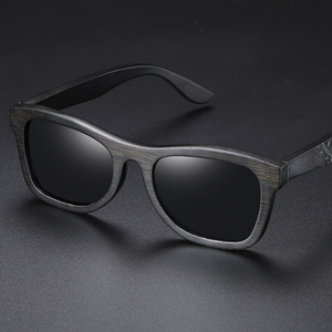 Image 5 - GM עץ משקפי שמש גברים מותג מעצב מקוטב נהיגה במבוק משקפי שמש עץ משקפיים מסגרות Oculos דה סול Feminino S1610B