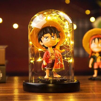 [Nouveau] japon Anime une pièce singe D Luffy Q style figure modèle Action Figure éclairage salle décoration jouet bébé enfants meilleur cadeau