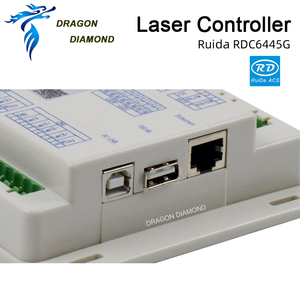 Image 3 - DSP CO2 sterownik laserowy systemowy Ruida RDC6445G grawer laserowy do Co2 maszyna do laserowego cięcia i grawerowania aktualizacji RDC6442 RDC6442G
