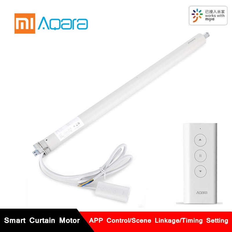 AQara Smart Curtain Motor Zigbee Smart Home Mijia APP Remote Control Timing Intelligent Rolling Shutter Curtain Motor