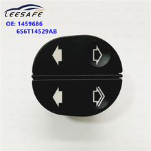 6S6T14529AB ELECTRIC CONTROL WINDOW SWITCH FOR FORD FIESTA FUSION KA PUMA TRANSIT 6 PIN 1459686, 6S6T 14529 AB, 6S6T14529A