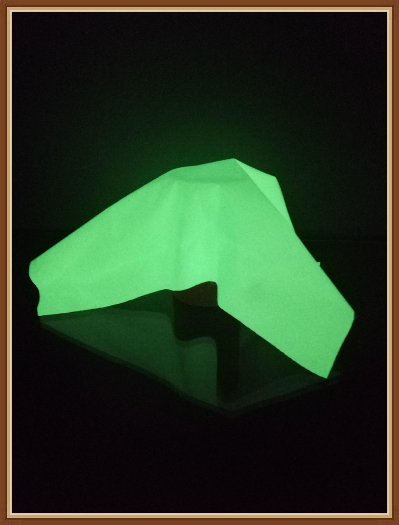 Supply Night Light Self-Shining Cloth, Shining Wan Ju Bu Night Light Reflective Chemical Fiber Cloth Blue Luminous Fabric